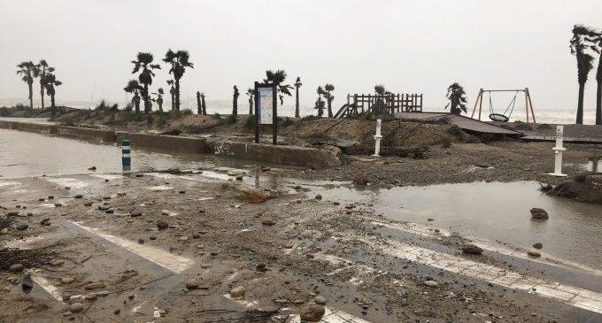 Almassora reclamará las soluciones propuestas por la UPV a la regresión de la playa