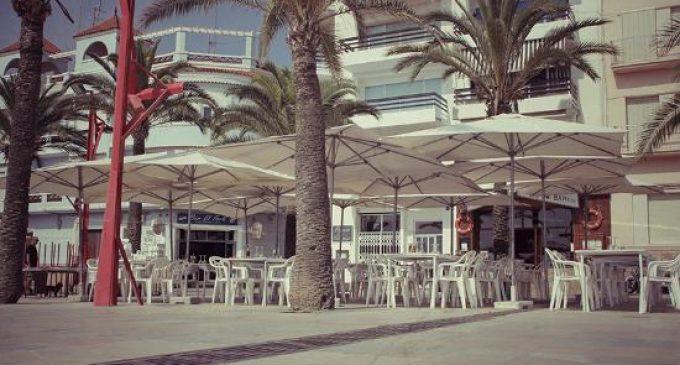 Vinaròs amplia l'exempció de la taxa de terrasses per a bars i restaurants fins a desembre de 2021