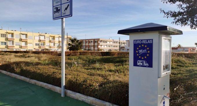 Almenara obri una nova àrea d'autocaravanes a la Platja Casablanca