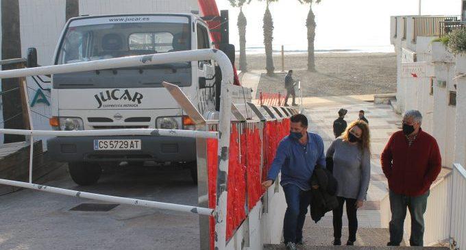 Benicàssim millora l'accés a la platja en l'Eurosol