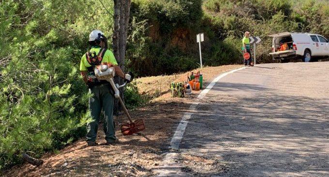 La Diputació i la Generalitat invertiran 600.000 euros per a garantir la seguretat en el vial que uneix Cabanes i Orpesa