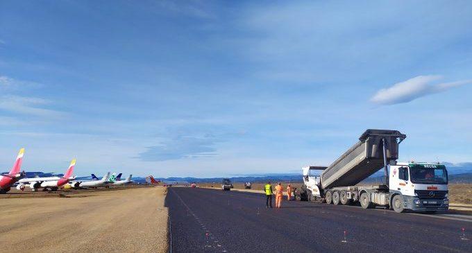 L'aeroport de Castelló inicia les obres de construcció de la nova plataforma industrial i de prolongació del carrer de rodatge