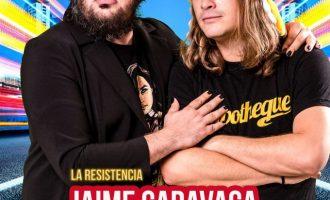 Jaime Caravaca i Grison Beatbox de 'La Resistencia' arriben al Teatre Payà de Borriana