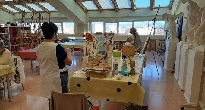 Borriana adapta les classes del centre Martí de Viciana a les restriccions sanitàries per a continuar amb el curs acadèmic