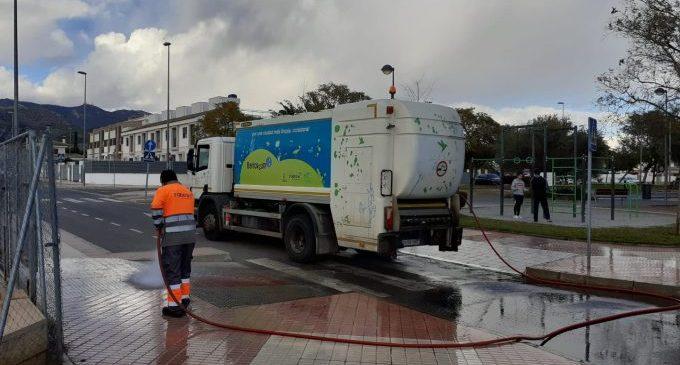 Benicàssim continua amb el servei de neteja i desinfecció per Covid-19