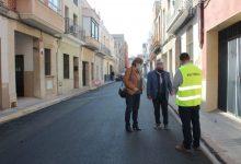 Borriana va destinar en 2020 més d'un milió d'euros per a adequar vials urbans i rurals