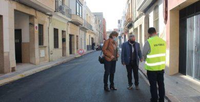 Burriana destinó en 2020 más de un millón de euros para adecuar viales urbanos y rurales