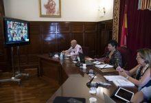 La Diputació de Castelló recupera la via telemàtica per als plens i les comissions com a mesura de protecció enfront de la Covid-19
