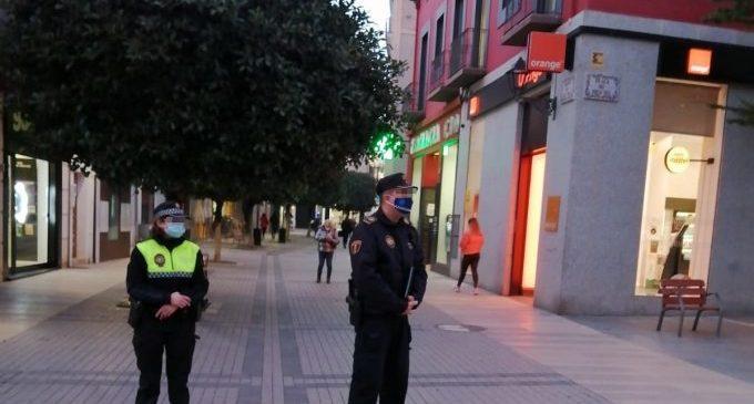 Policia Local de Benicarló intensificarà els controls i vigilarà especialment les reunions de joves