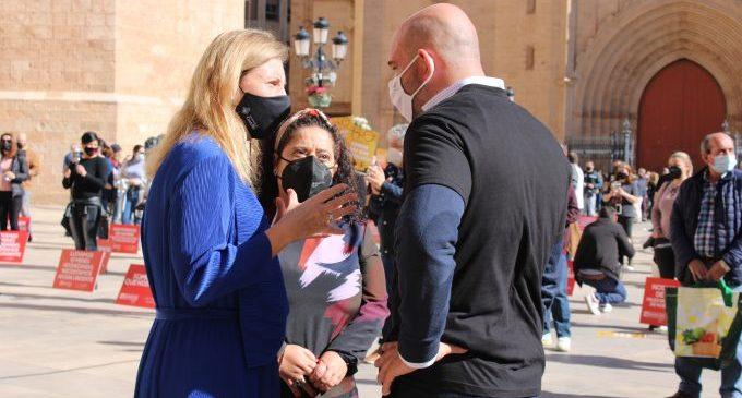 Marco demana calma davant la pròrroga i destaca els més de 10 milions d'euros en ajudes a famílies i comerços