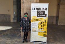 Castelló anima a participar en la bossa de lloguer municipal després de rebre 37 consultes