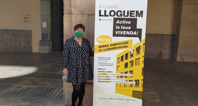 Castelló anima a participar en la bolsa de alquiler municipal tras recibir 37 consultas