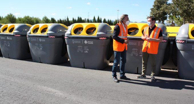 Castelló duplica en dos anys els contenidors de recollida selectiva per a potenciar el reciclatge