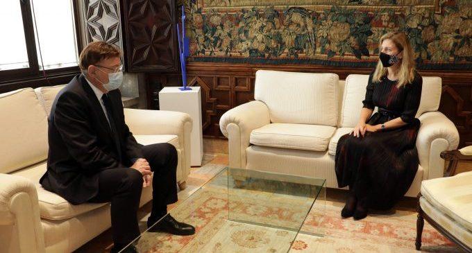 Ximo Puig i Amparo Marco reforcen l'aliança institucional per a afrontar els reptes de Castelló