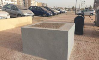 L'Ajuntament de Vinaròs treballa per a millorar el servei dels contenidors soterrats