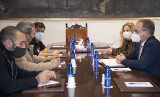 La Diputació accepta la proposta d'OnCastellón d'impulsar un projecte provincial de dinamització de l'oci nocturn