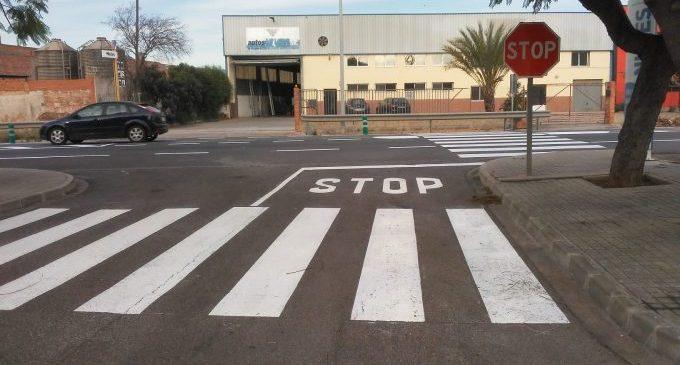 Nules mejora la accesibilidad de la avenida Nyons