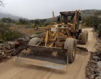 Avancen les obres de reconstrucció dels accessos a la zona sud de Peníscola