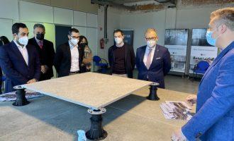 La Diputación incentiva la innovación en el sector cerámico como motor de crecimiento con un reconocimiento a Rocersa