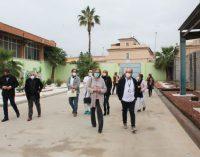 El Ayuntamiento de Borriana muestra a Sanidad las instalaciones municipales para la vacunación contra la Covid-19 en la ciudad