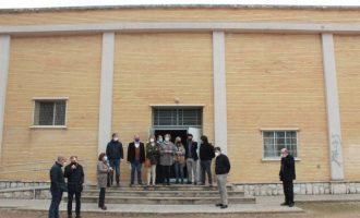 Comienza el derribo del actual IES Jaume I de Borriana y la construcción del nuevo centro