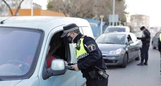 La Policia Local imposa 285 denúncies per vulnerar mesures anticovid durant l'últim mes