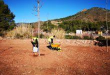 L'Ajuntament de la Vall d'Uixó torna a adequar la Senda de Quistel després dels actes vandàlics