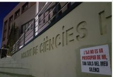 Cartells amb acusacions a professors per abús apareixen en la Universitat Jaume I