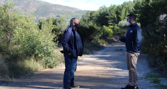 El Ayuntamiento de l'Alcora continúa con la adecuación y mejora de caminos