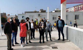 Les obres del pla edificant en el CEIP Juan Carlos I d'Almenara avancen a bon ritme