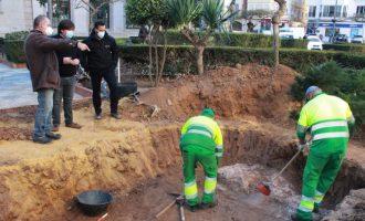 L'Ajuntament posa al descobert noves restes de la muralla medieval de Borriana