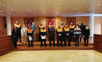 Almenara reconeix les tasques de Protecció Civil durant la pandèmia de la COVID-19