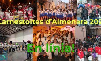 El Carnestoltes d'Almenara 2021 se celebrarà a través de xarxes socials