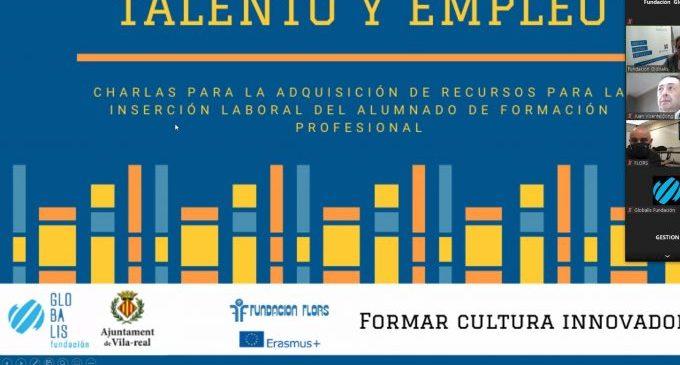 Fundación Globalis acerca los estudiantes de secundaria al mercado laboral mediante charlas formativas en Vila-real