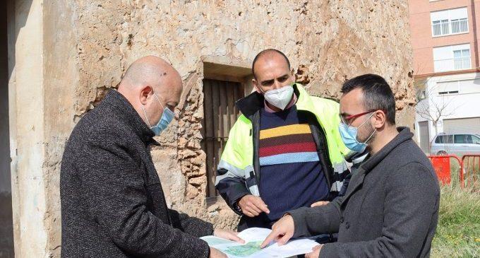Vila-real completará la zona ajardinada de Botànic Calduch y rehabilitará la alquería