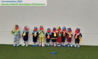 L'Escola Municipal Infantil d'Almenara celebra el seu Carnestoltes 2021