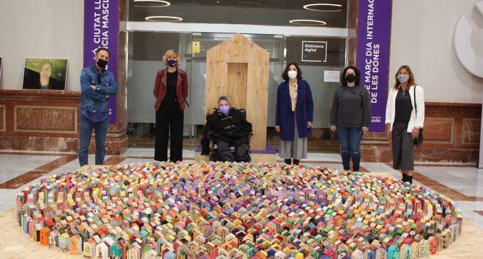 Les exposicions 'Ciutat lliure de violència masclista' i 'Calladita no estás más guapa' enceten la programació feminista a Castelló