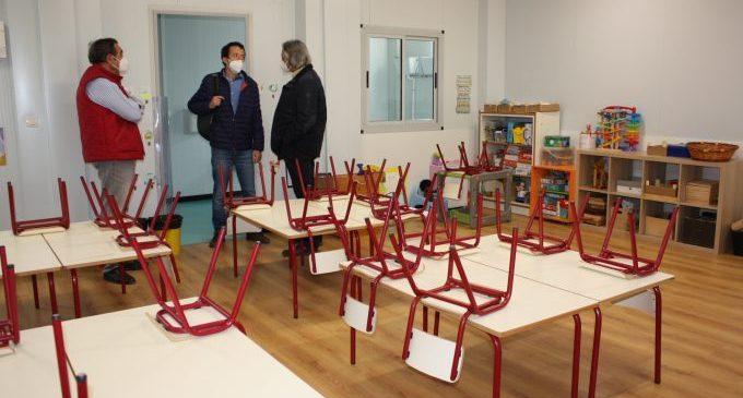 L'alumnat del Vicent Marçà de Castelló reprendrà les classes el dilluns en les aules provisionals