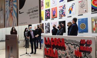 La exposición 'Prohibit fixar cartells' ofrece en Castelló un recorrido por la cultura y la sociedad valenciana de los últimos veinte años