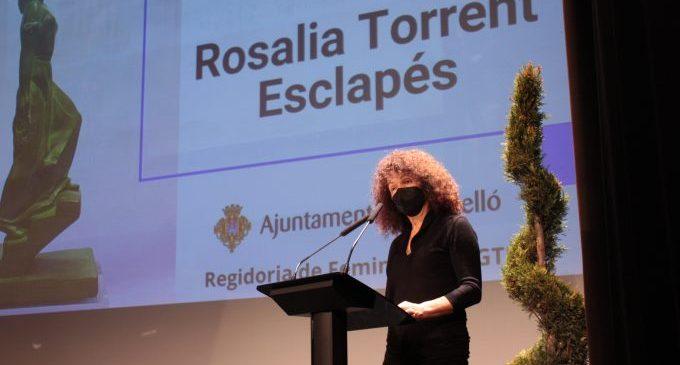 Rosalia Torrent recull el Premi Olímpia 2021 per la seua tasca de gestió cultural lligada al feminisme