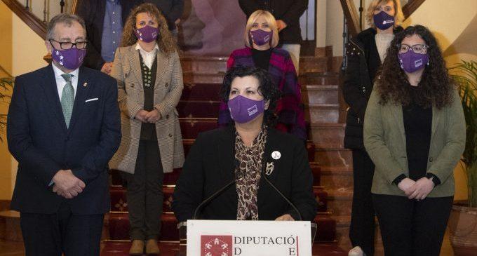 La Diputació mostra unitat política en el 8M per a reclamar una igualtat real i posa en valor a la dona rural