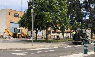 Almassora inicia el projecte de reforma de Sant Ferran i avinguda Castelló amb 675.000 euros