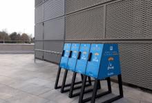 El Centre Comercial Salera instal·la aparcaments per a patinets elèctrics