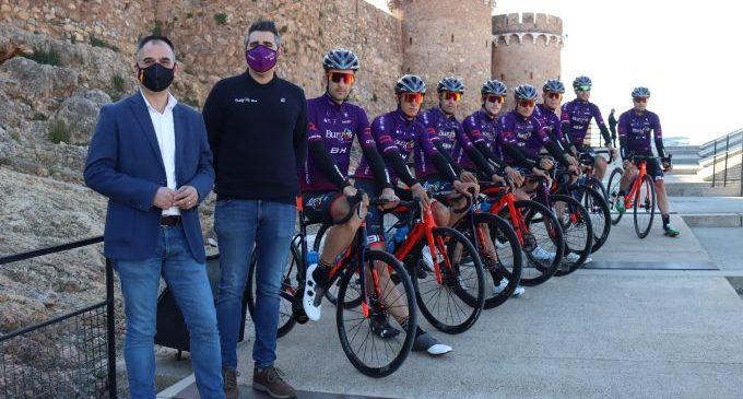 El equipo ciclista profesional Burgos BH prepara sus próximas competiciones en Onda