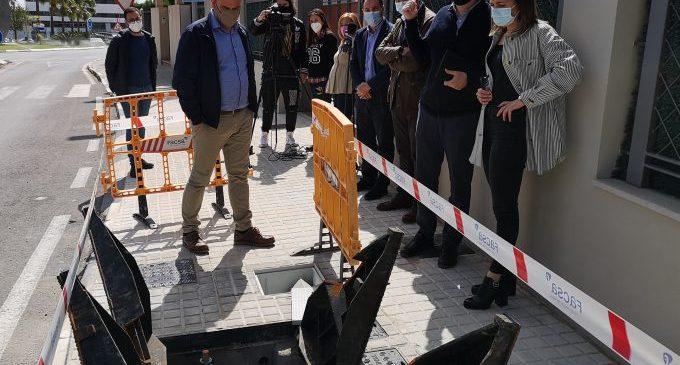 La Vall d'Uixó millorarà la pressió de l'aigua del barri Colònia Segarra amb noves connexions en les canonades a través de Facsa