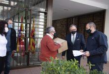 El Parque Móvil de la Diputación recorre 25.000 kilómetros desde el inicio de la pandemia para repartir 600.000 mascarillas