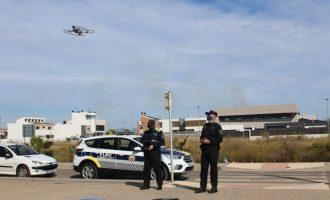 Borriana se blinda ante la Semana Santa y Pascua con un dispositivo especial policial