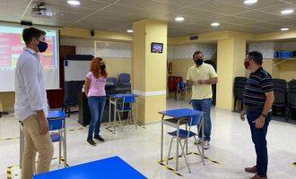 L'Ajuntament de Peníscola i la banda de música demanen a l'IVC la cessió del Palau de Congressos per a assajar