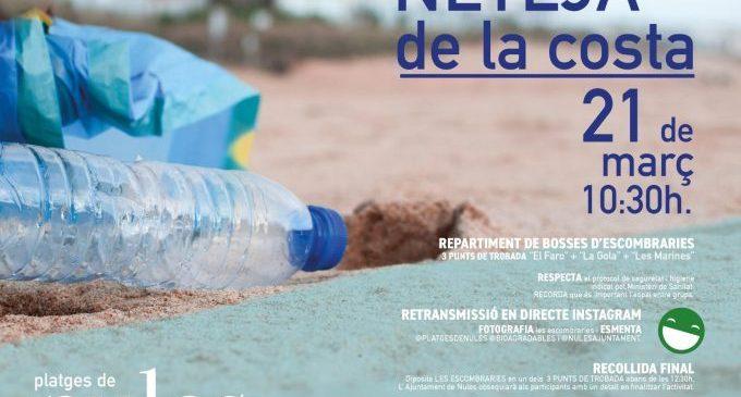 Nules torna a organitzar una jornada de voluntariat per a netejar les platges