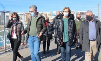 Borriana reivindica más inversiones de Generalitat para impulsar el Puerto
